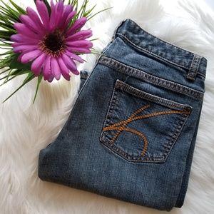 Michael Kors ❤ Straight Leg Jeans